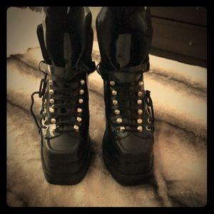 Jeffrey Campbell boots, SALE today $100 to $80